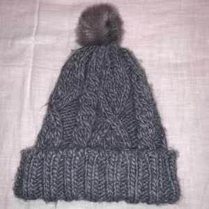Grey Winter Hat
